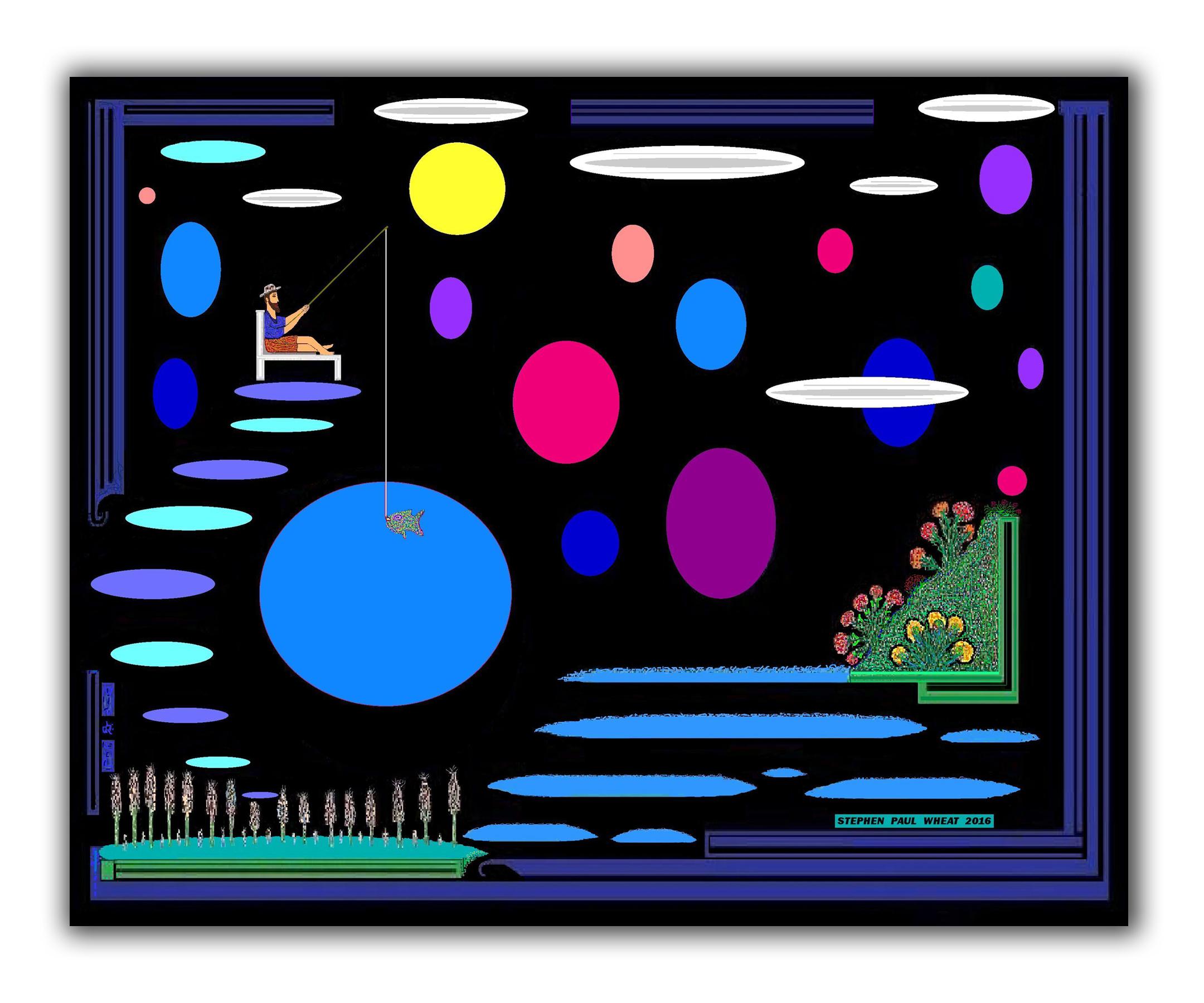 abstract children room art