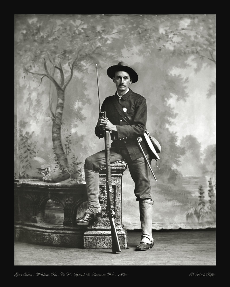 Davis portrait photo 1898