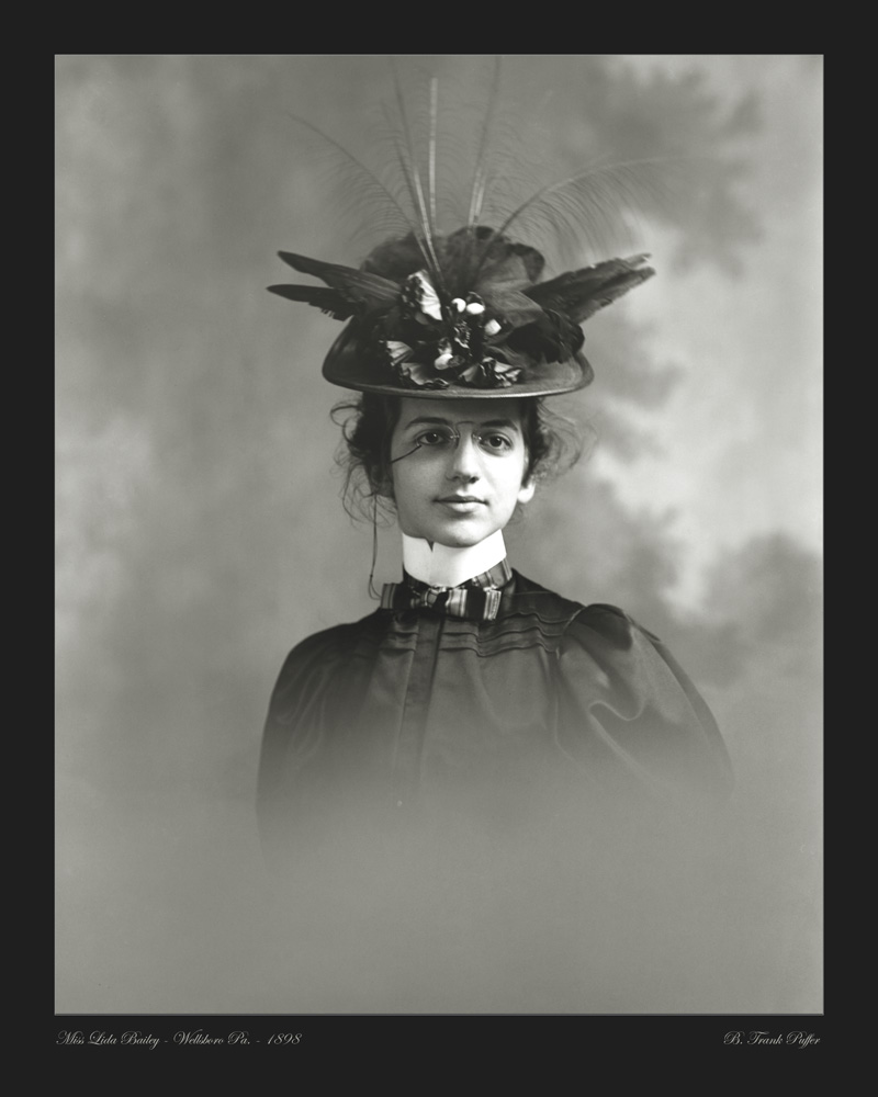 Bailey portrait photo 1898