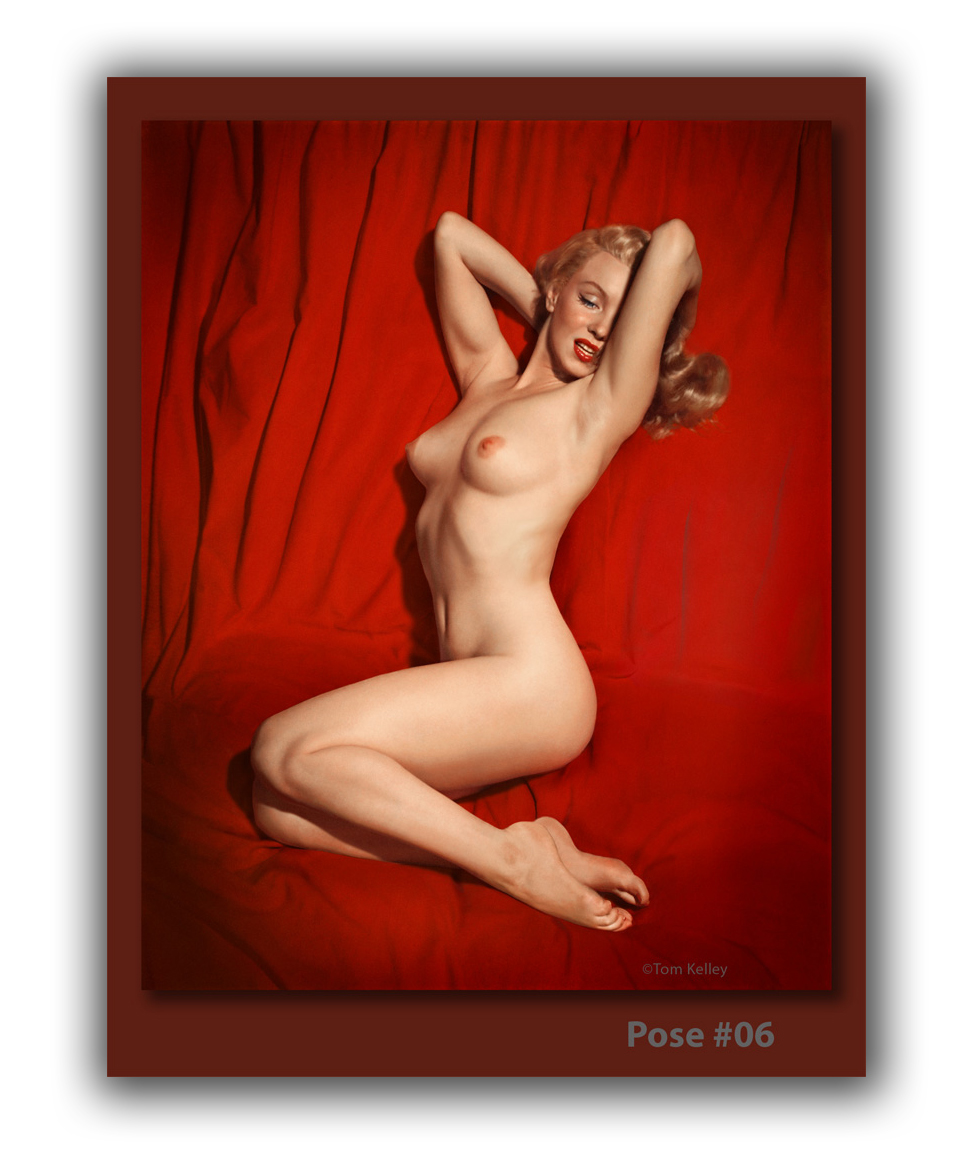 Marilyn Monroe Nude Pose 06