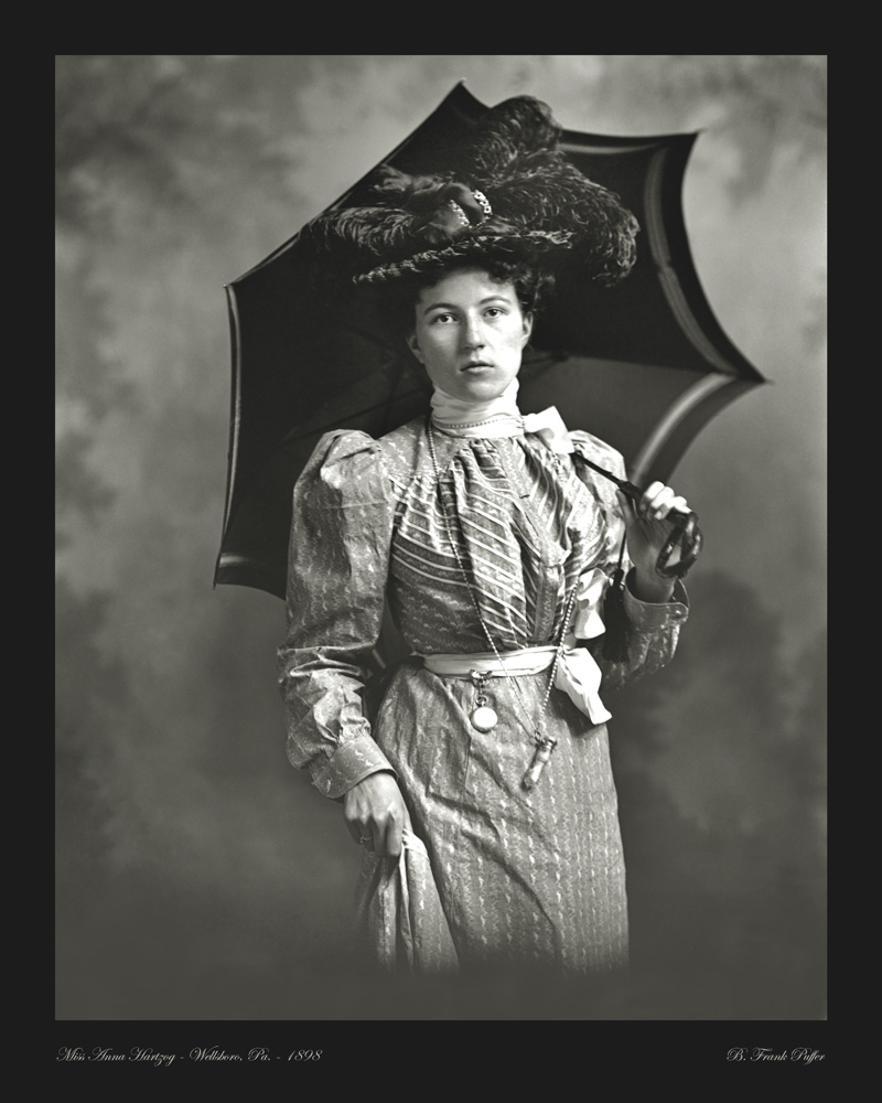 Hartzog portrait photo 1898