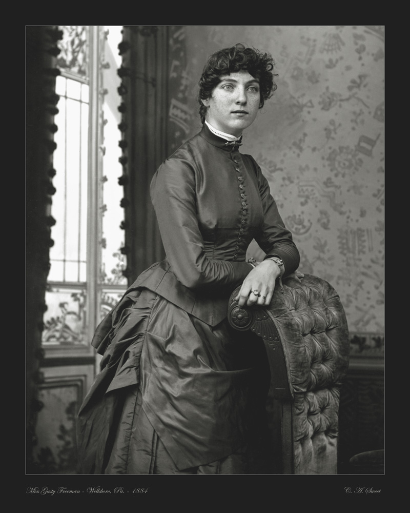 Freeman portrait photo 1884