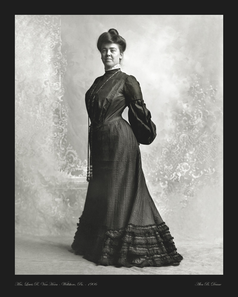 Van Horn portrait photo 1906