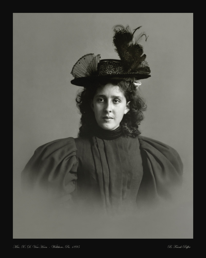 Van Horn portrait photo 1895