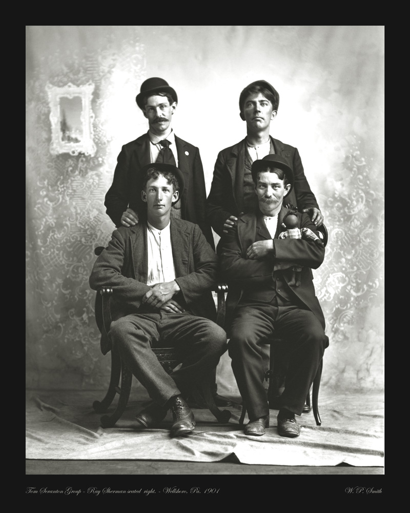 Sherman Group photo 1901