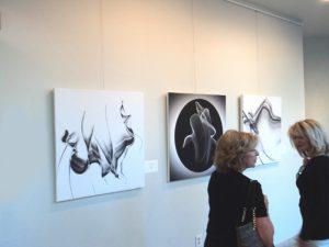 Thousand Oaks Civic Arts Center 2017 juried show Black & White Magic