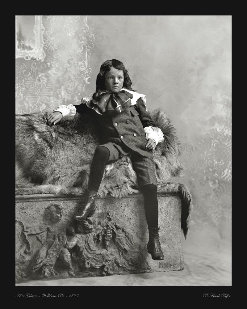 Gillman portrait photo 1895