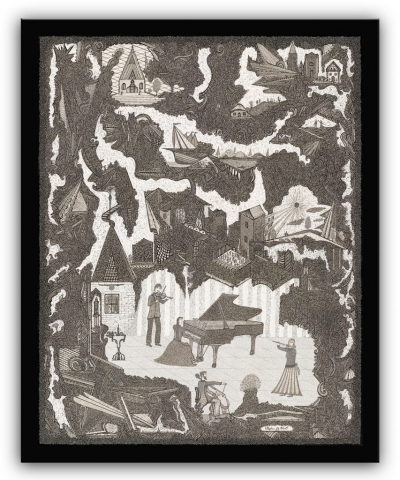 christian folk art, religious wall art