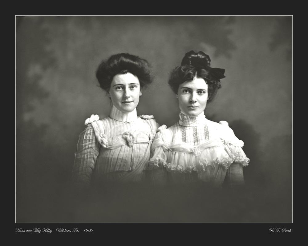 Kelly portrait photo 1900