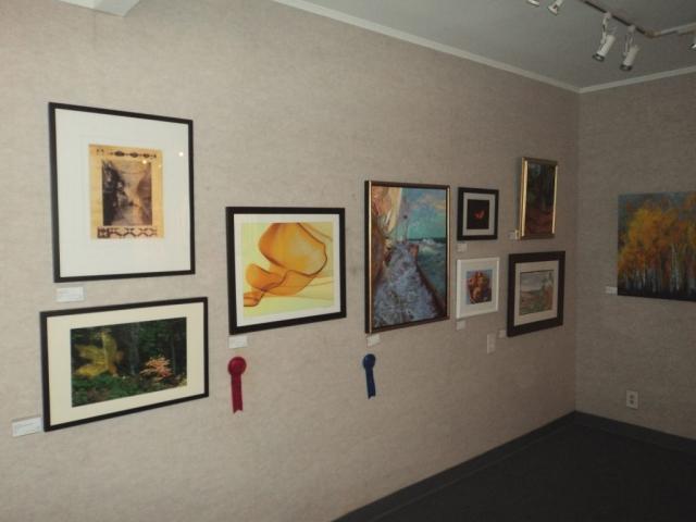 Artist VanDewerker prize winning piece Caramel Melt at Buena Ventura Gallery showroom