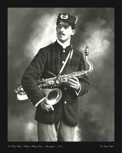 Puffer portrait photo 1896