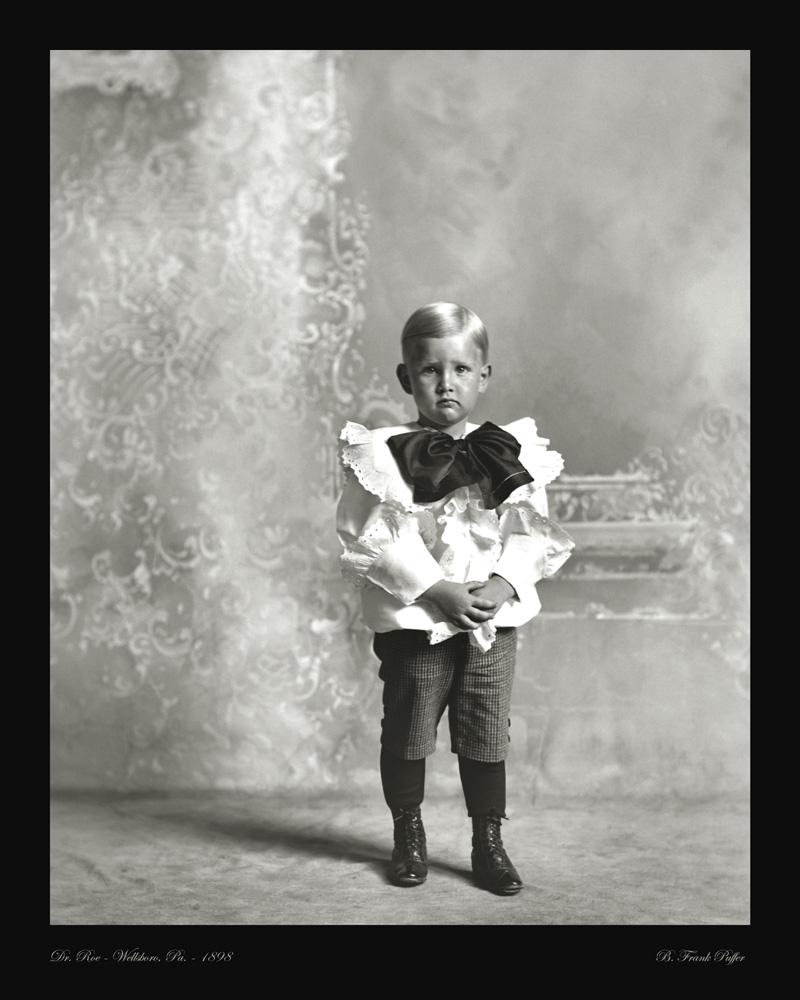 Roe portrait photo 1898