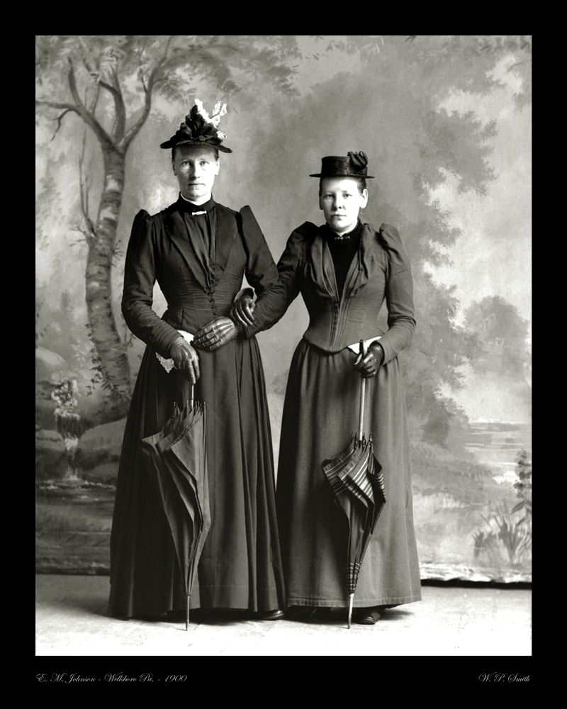 Johnson portrait photo 1900