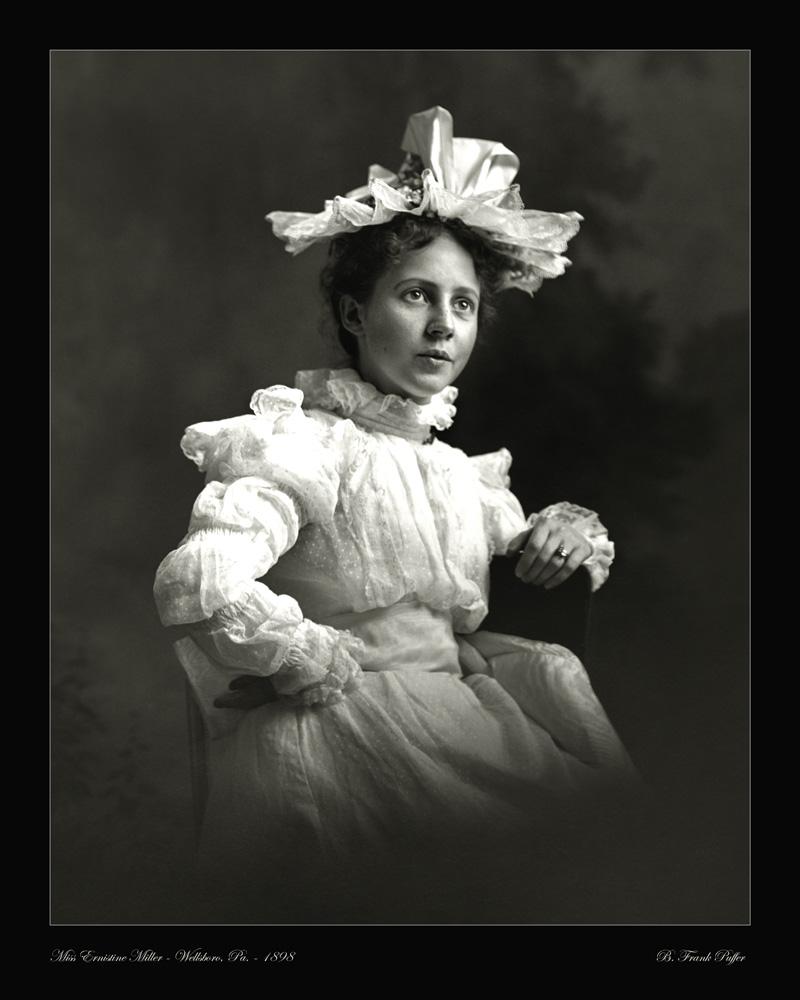 Miller portrait photo 1898