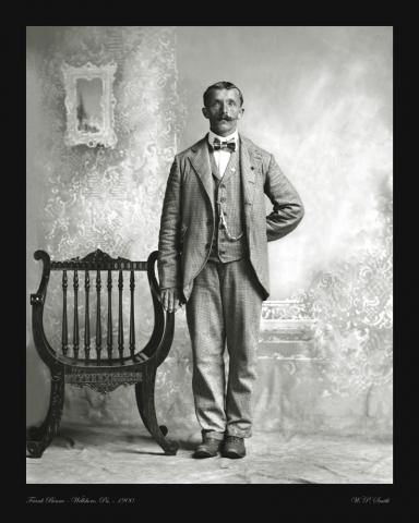 Benno portrait photo 1900