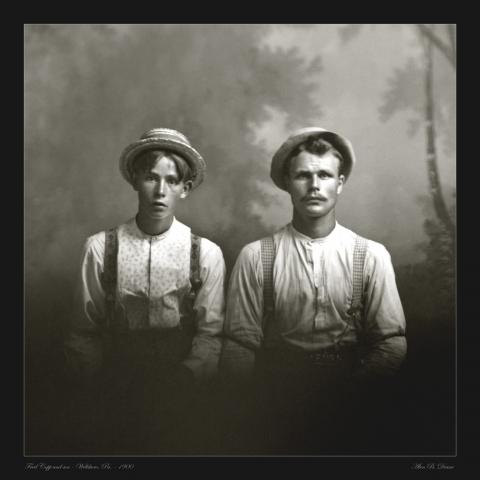 Cobb portrait photo 1900