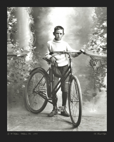 Belfour portrait photo 1895