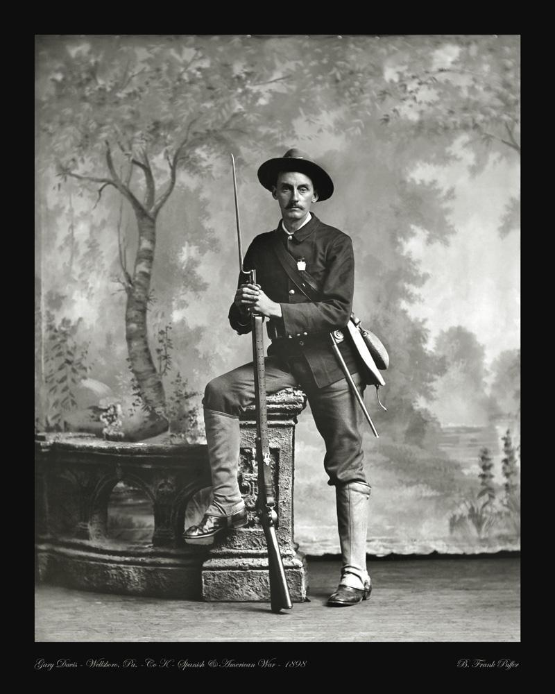 Davis portrait photo 1898