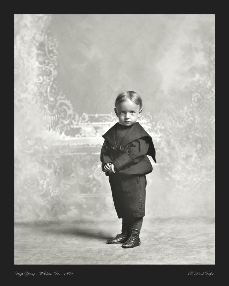 Young portrait photo 1896