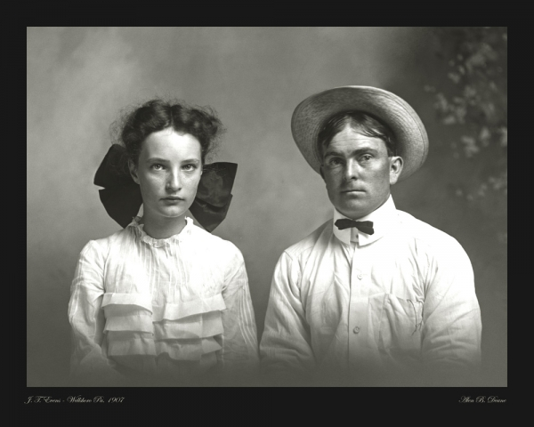 Evens portrait photo 1907
