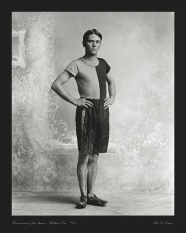 Spencer portrait photo 1905