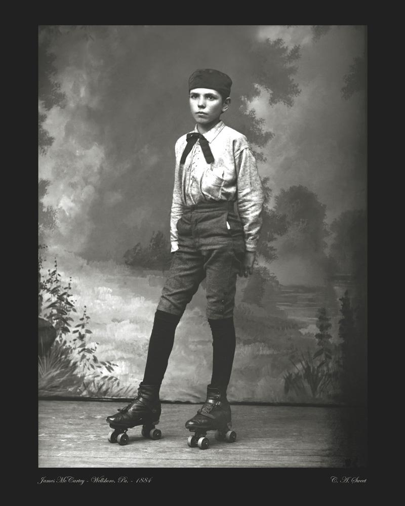 McCartey portrait photo 1884