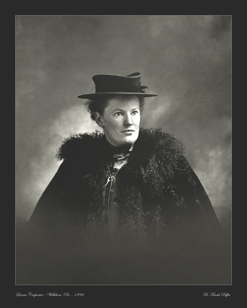 Carpenter portrait photo 1896
