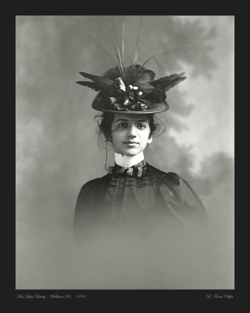 Bailey portrait photo 1898