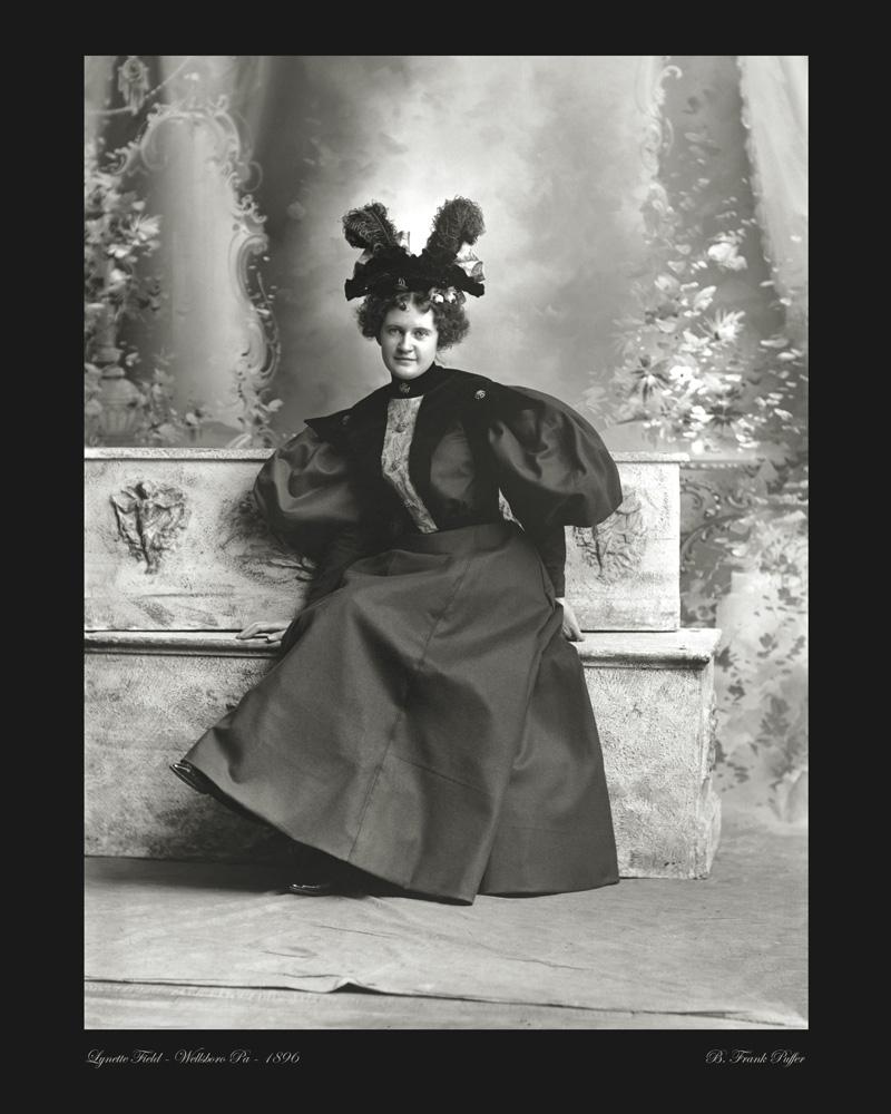 Field portrait photo 1896
