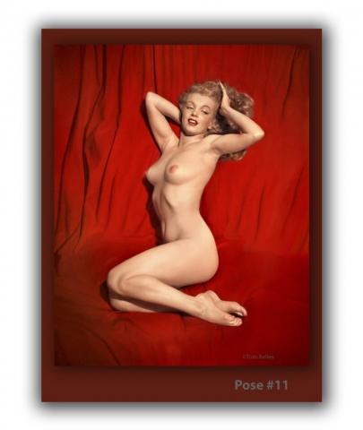 Marilyn Monroe Nude Pose 11
