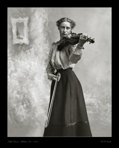 Francis portrait photo 1901