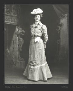 Wood portrait photo 1901