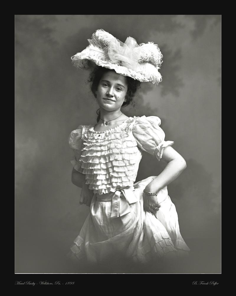 Busby portrait photo 1898
