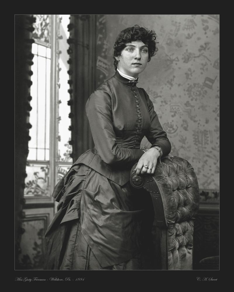 Freeman portrait photo 1884