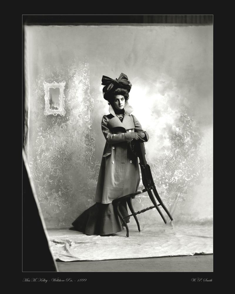 Kelly portrait photo 1899