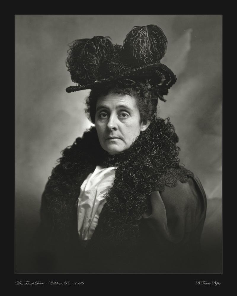 Deams portrait photo 1896