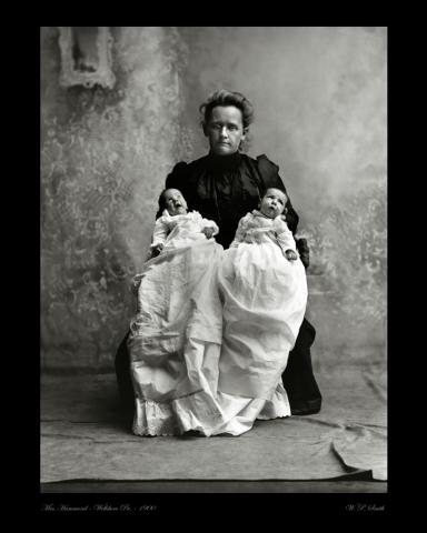 Hammond portrait photo 1900