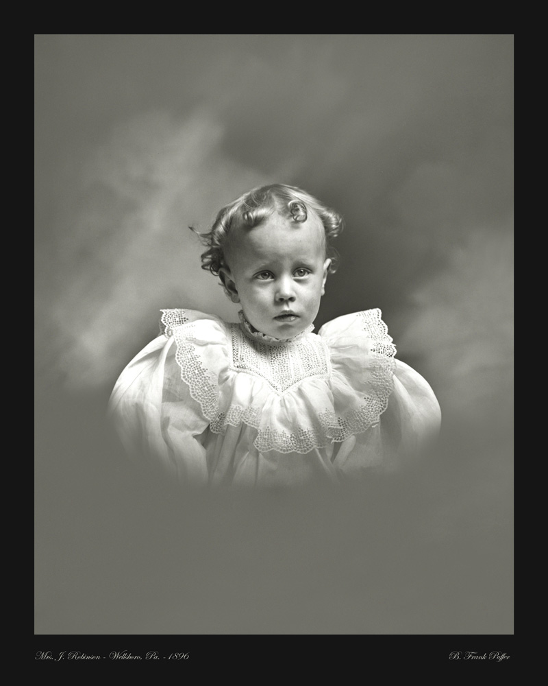 Robinson portrait photo 1896