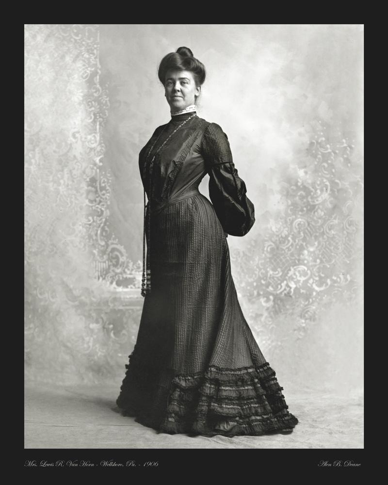 Van Horn portrait photo 1906