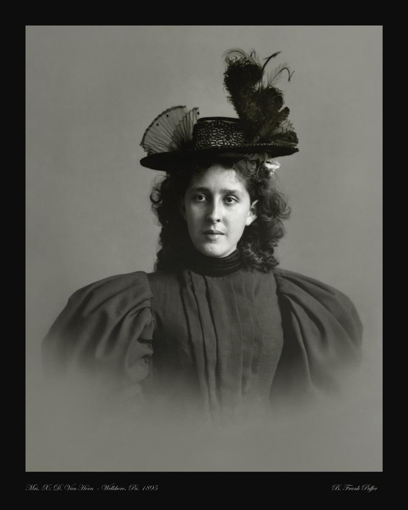 Van Horn portrait photo 1895