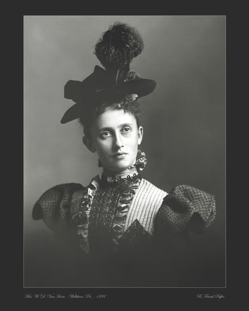 Van Horn portrait photo 1897