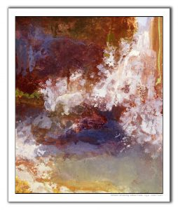 abstract expressionist adkison, northwest abstract landscape art