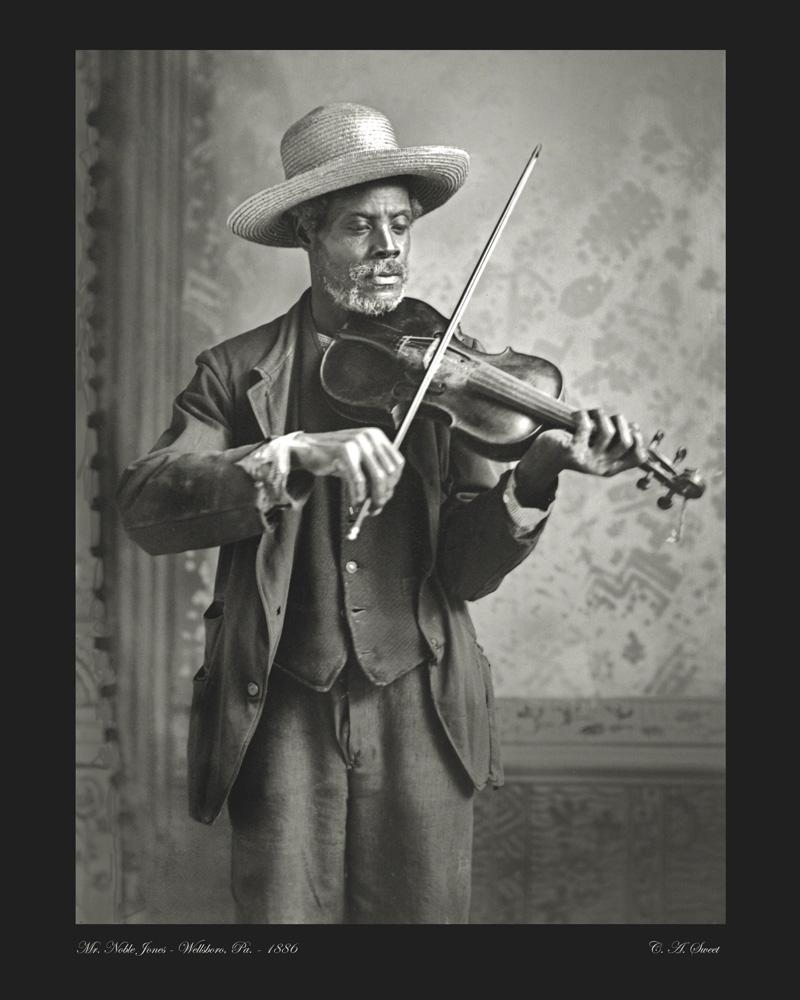 Jones portrait photo noble 1886