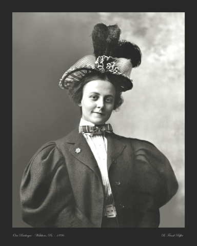 Reidinger photo portrait 1896