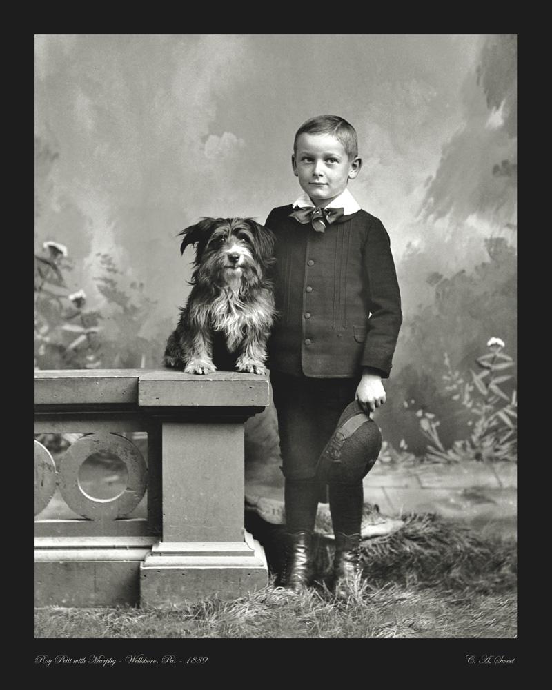 Petit photo portrait 1889