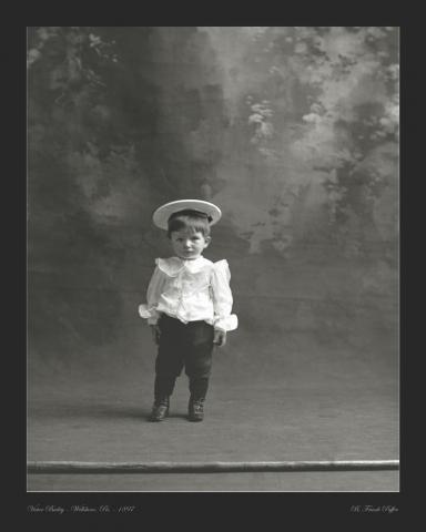 Bailey portrait photo 1897