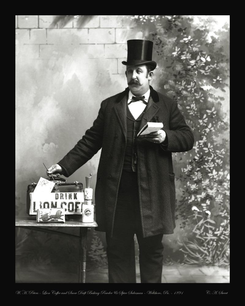 Peters photo portrait 1891