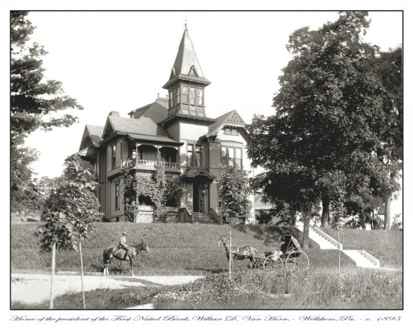Van Horn home photo 1895